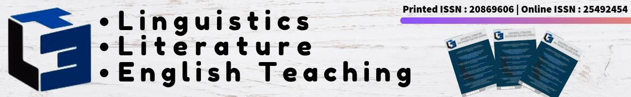 LET: Linguistics, Literature and English Teaching Jurnal